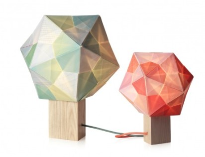 origami polyhedra lighting