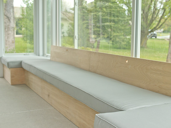 How to build custom modern bench seating on hgtv
