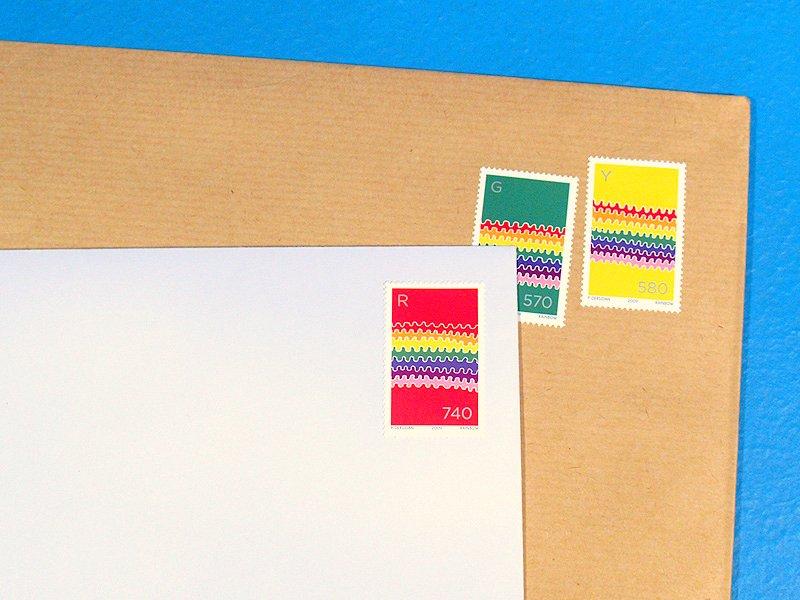 rainbow-stamps