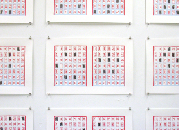 lottery ticket art. - Design For Mankind