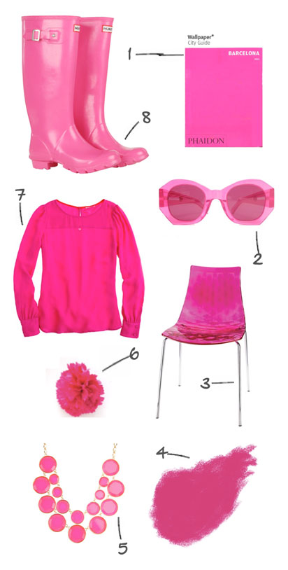 pink items and products