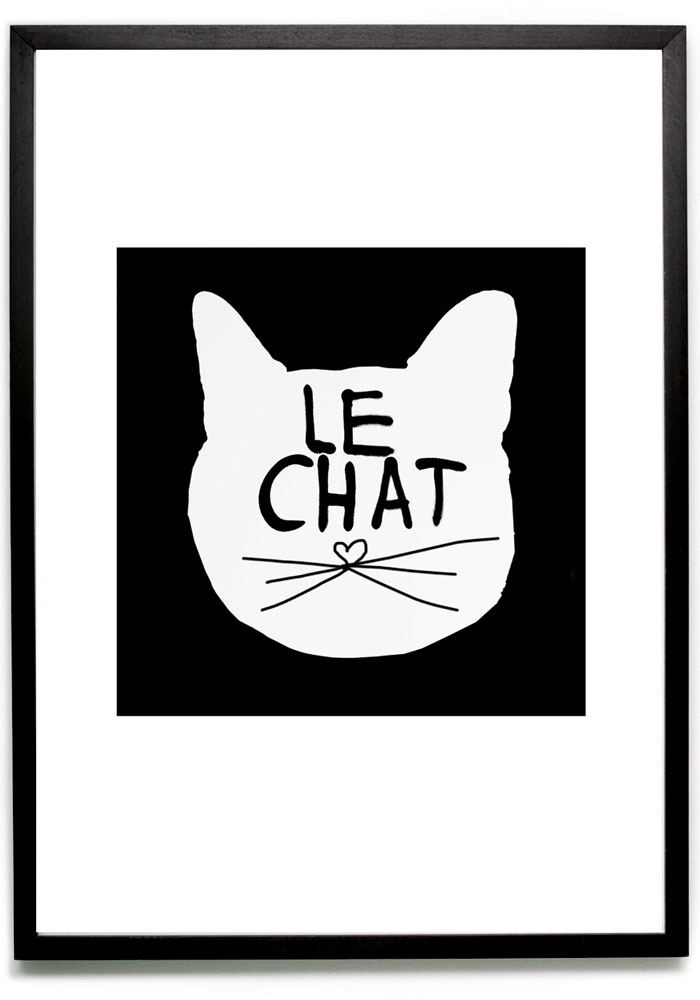 le chat poster 2